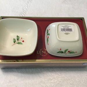 Lenox Holiday Dipping Bowls - set of 2